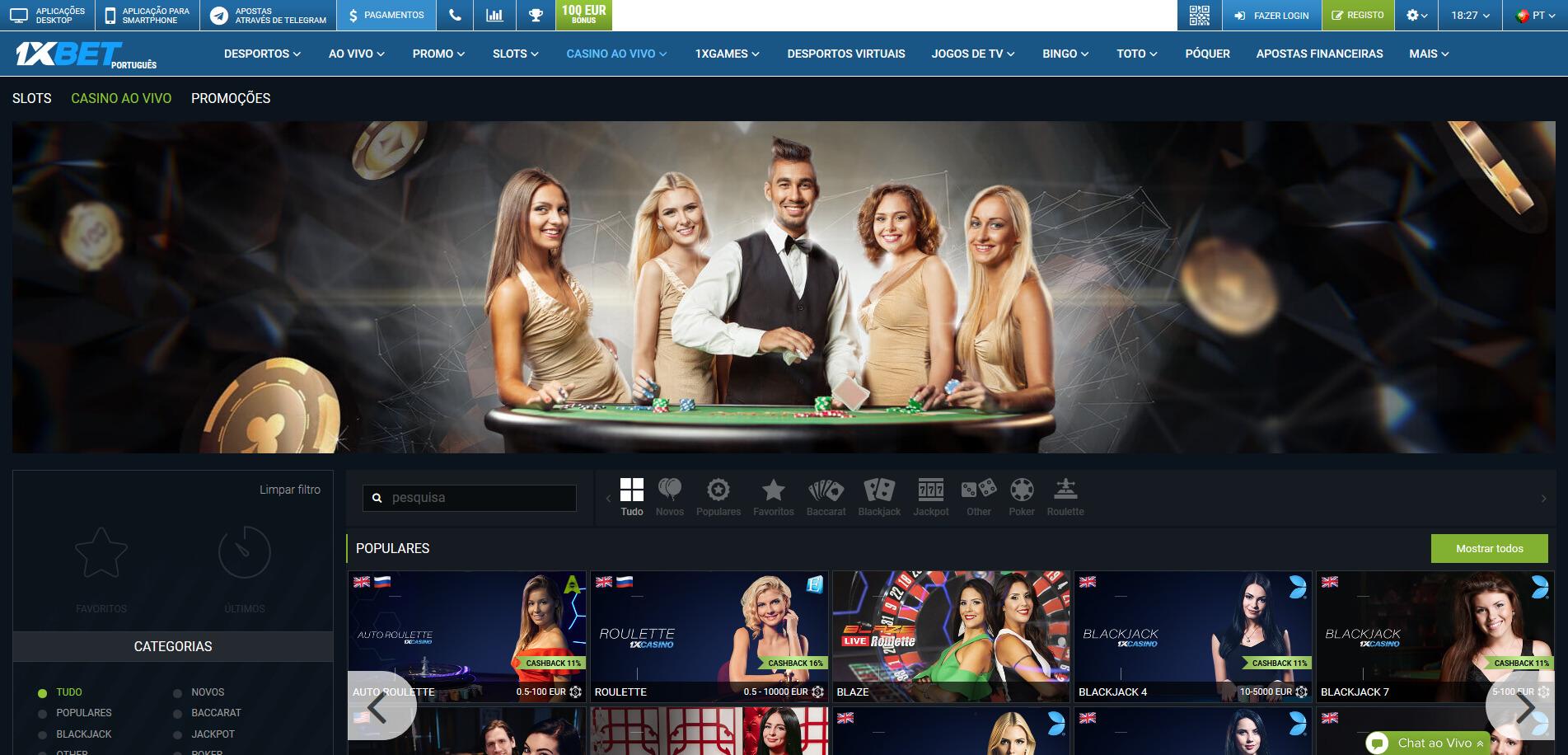 1xBet Casino 2020